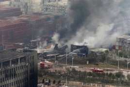 China chemical plant explosion death toll climbs to 64