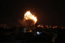 Israel pounds Gaza Strip with airstrikes