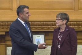 Kansas recognizes partnership with Armenia