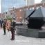 Armenian Park reconfiguration of Abstract Sculpture set for April 7