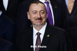 Azerbaijani President says war with Armenia not over