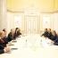 Սփյուռքից գործարարներ վարչապետին տարբեր ներդրումային ծրագրեր են ներկայացրել