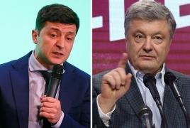 Ukraine presidential hopefuls will debate in Olympic stadium