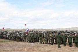 Հայ-ռուսական միացյալ զորախումբը  լայնածավալ զորավարժություն է անցկացնում