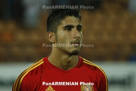 Dutch Willem II terminates contract with Armenia's Aras Özbiliz