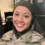 Muslim soldier suing US army after 'being forced to remove hijab'