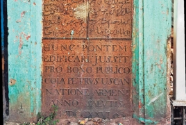300-year-old Armenian plaque restored in India