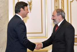 Corporación América investments in Armenia discussed in Yerevan