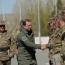 Հայ-ռուսական զորախմբի մասնակցությամբ վարժանքներում կիրառվել են ԱԹՍ-ներ, ծանր զինտեխնիկա, ավիացիա