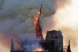 Նոտր Դամում հրդեհը մարված է․ Տաճարը՝ կրակից հետո (Ֆոտո)