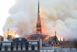 Известна возможная причина пожара в соборе Парижской Богоматери