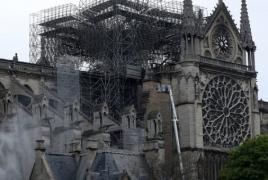 Пожар в соборе Парижской Богоматери мог начаться из-за короткого замыкания