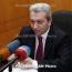 Ջանջուղազյանի պաշտոնանկության առաջարկն ԱԺ-ում մերժվել է