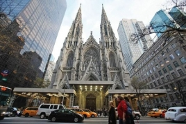 Man took gasoline into St Patrick's Cathedral in New York