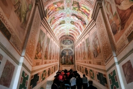 Vatican displays Holy Stairs for first time in 300 years