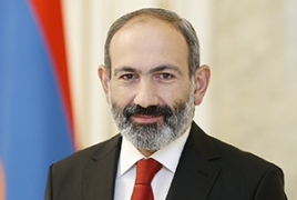 Armenian PM congratulates Ukraine's new President in Ukrainian