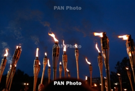 Powerful torchlight procession will mark Armenian Genocide anniv.