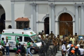 Sri Lanka says bombings death toll between 250-260, not 359