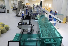Production of made-in-Armenia medical supplies launched in Yerevan