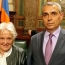 Artsakh Foreign Minister meets Uruguay Vice President