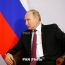 Putin: Chinese 'belt and road' fits with Eurasian Economic Union goals