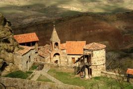 Грузия и Азербайджан опять спорят о монастыре Давид-Гареджи