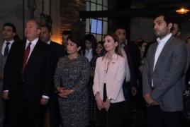 Նախագահ Սարգսյանը մասնակցել է Ucom-ի և Creative Armenia-ի ստեղծարար երիտասարդների միջոցառմանը