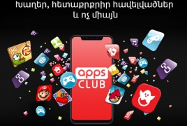 Apps Club: VivaCell-MTS drops new service with 700 apps and games