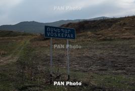 Azerbaijani troops open fire on Armenian road