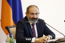 Armenia's Pashinyan hosts Russian PM at home