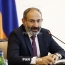 Armenia's Pashinyan hosts Russian PM at home