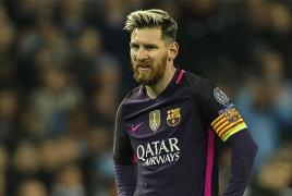 Месси забил 600 мячей за «Барселону»