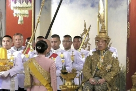 В Таиланде короновали короля Раму Х: Его корона весит 7.3 кг