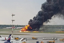 Forty-one people, including two children, killed in Moscow plane crash