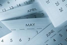 Մայիսի 10-ն աշխատանքային կլինի