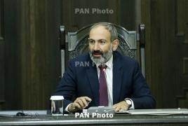 Armenian PM heading to Luxembourg, Belgium, China