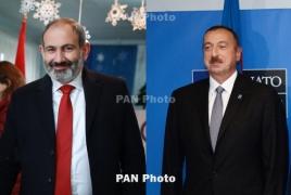 Armenian, Azerbaijani leaders talk Karabakh in Brussels