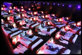Movie theater with actual beds opens in Switzerland