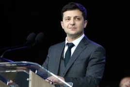 Volodymyr Zelensky sworn in as Ukrainian president