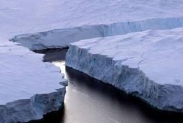 Толщина льда в Антарктиде снизилась на 122 метра с 1992 года