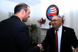 Security Council chief meets Armenian community leaders in DC