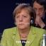 Merkel inspects NATO troops in Germany