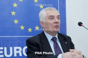 EU says ready to assist Armenia in judiciary reform process