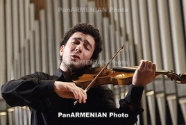 Three Armenians included in list of world's top 30 violinists