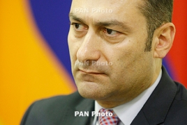 Armenia Justice Minister resigns
