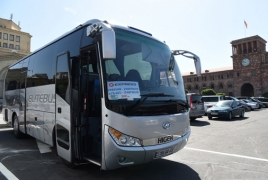 Iraq launches first bus line to Armenia