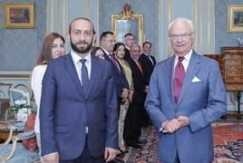 ԱԺ նախագահը Շվեդիայի թագավորին է հանդիպել