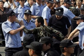Hong Kong police use rubber bullets, tear gas to disperse protesters