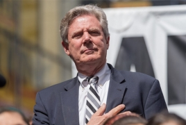 Pallone challenges barriers to U.S.-Artsakh travel and communication