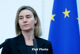 Mogherini describes relations with Armenia as